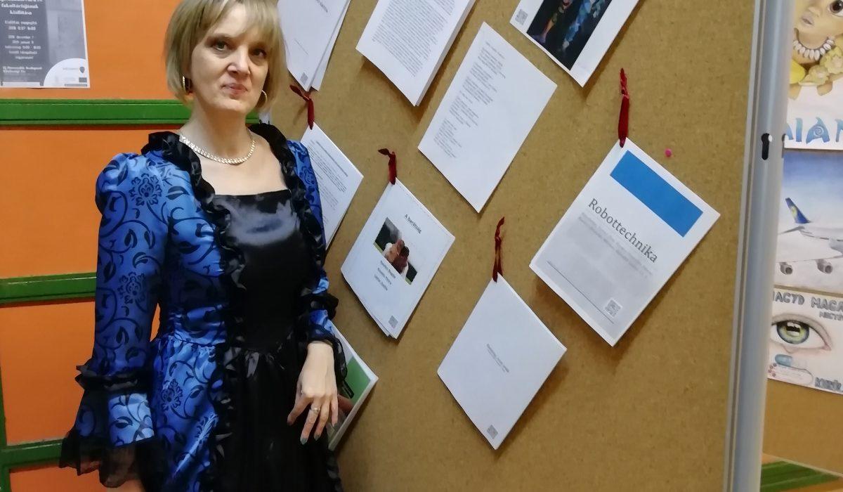 Kiállítás a Veres Pálné Gimnáziumban